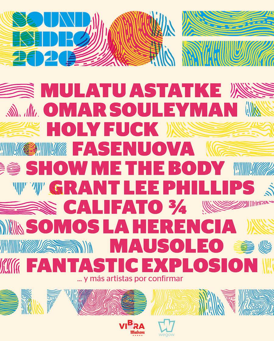 Sound Isidro 2020 - Conciertos
